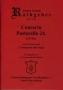 Concerto Pastorello 24 - Bearbeitung