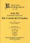 Aria 11 - Die Ursach der Freuden