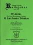 Hymnus 10 - O Lux beata Trinitas