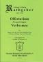 "Offertorium ""Verba mea"" Opus 20"