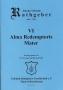VI Alma Redemptoris Mater Opus 16