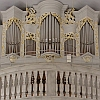 Organ in the Catholic Pilgrimage Church St. Kilian Oberelsbach