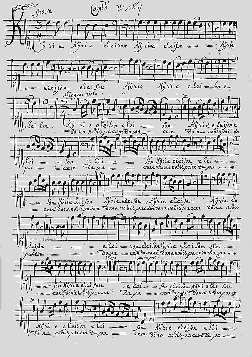 Cover sheet of the manuscript of the Muri Mass